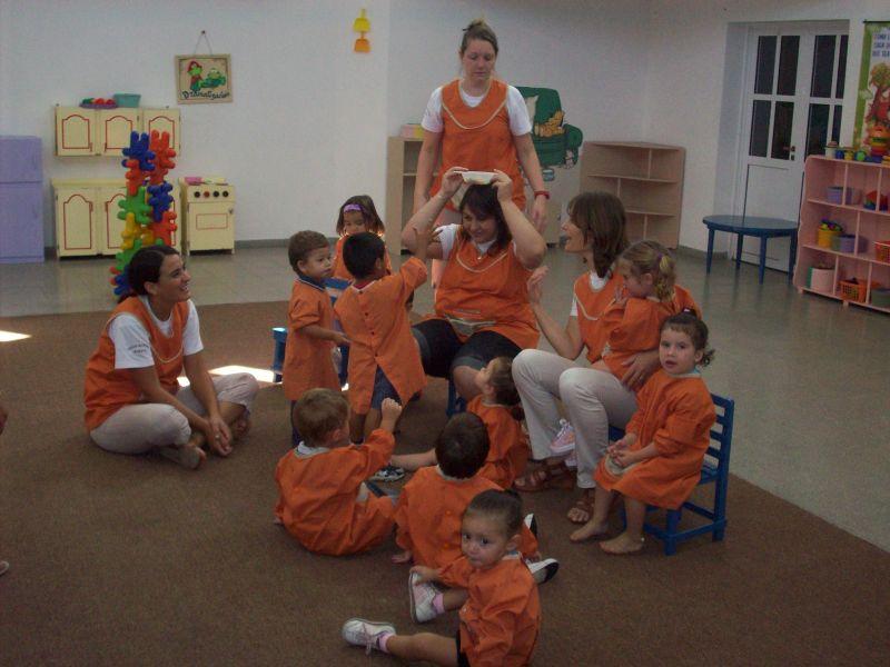Iniciaron las clases de adaptaci n para los ni os de 2 for Actividades para jardin maternal sala de 2