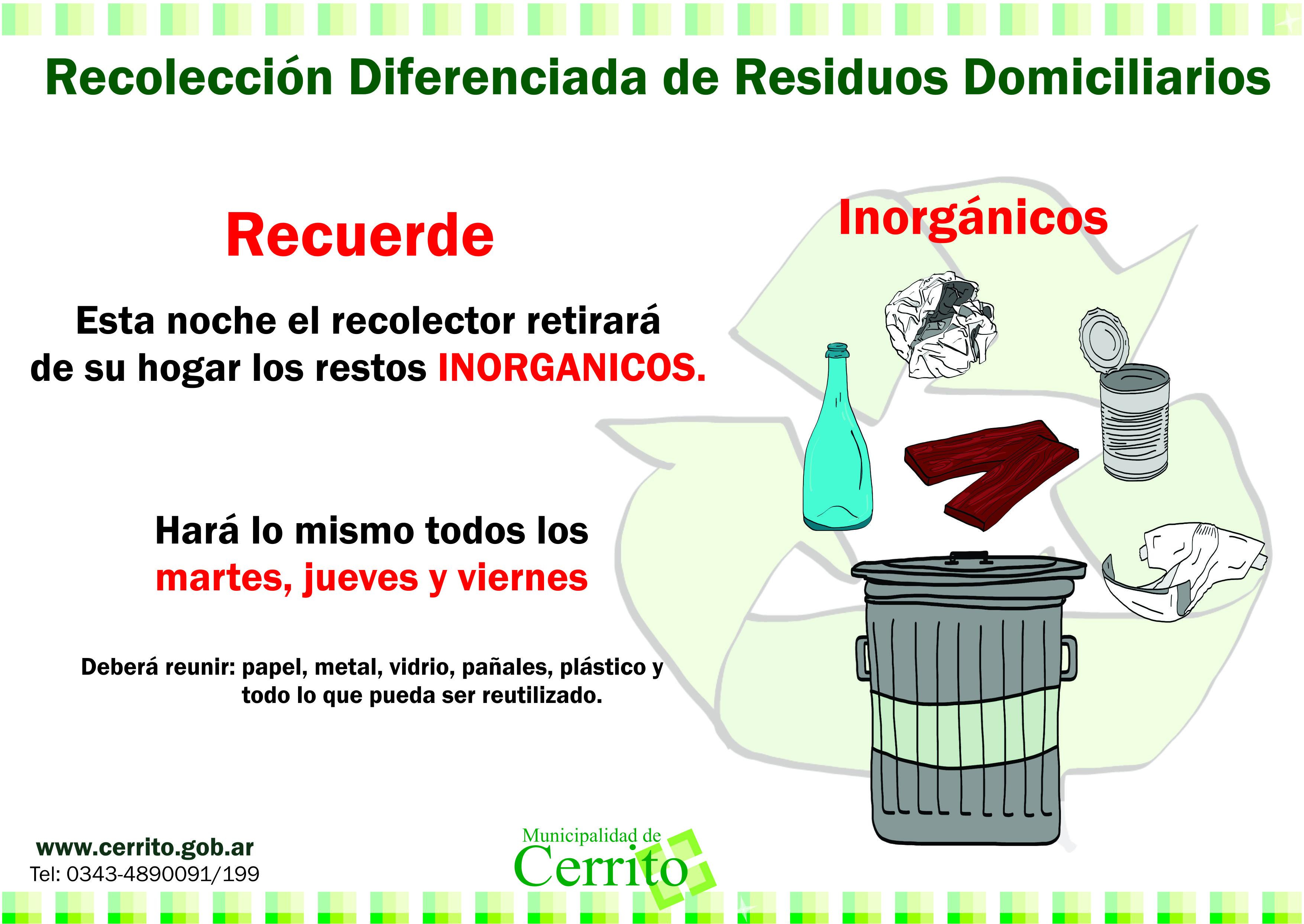Fotos de basura inorganica 17