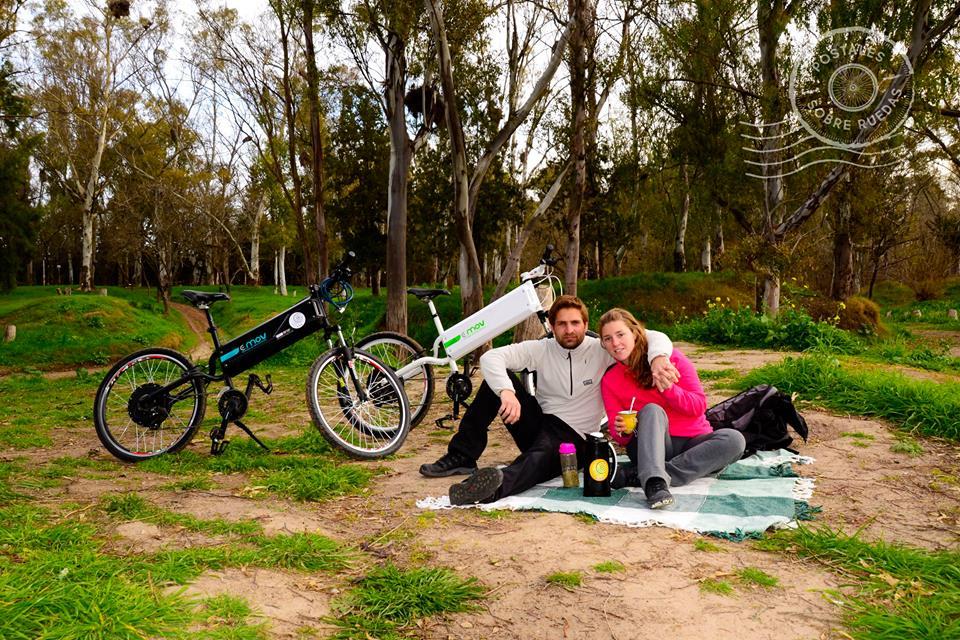 Presentación de bicicleta eléctrica al municipio