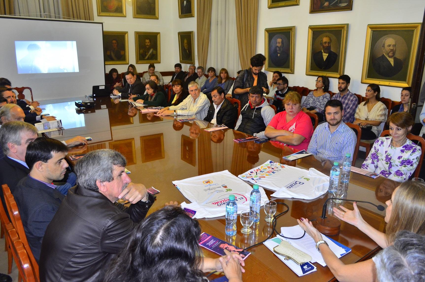 Se presentó la beca cultural del gobierno de Entre Ríos