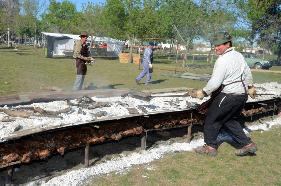 Cerrito se prepara para la Fiesta del Chancho con Pelo