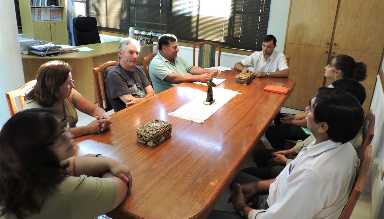 Reunión con el Sindicato de Empleados