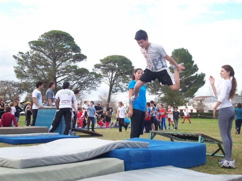 Actividades físicas y deportivas municipales