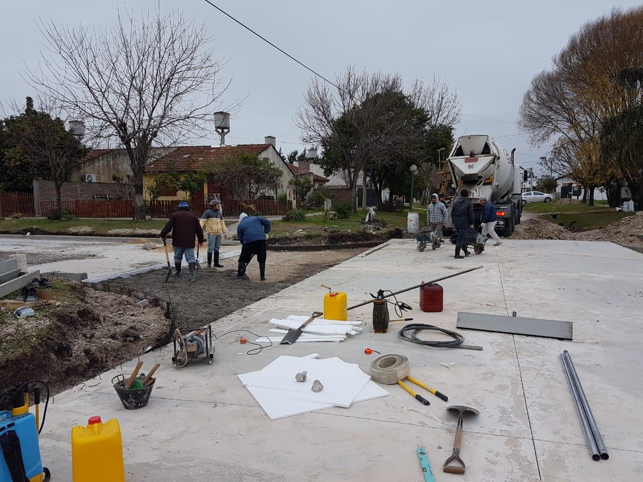 Siguen las obras en calle Elías Camps