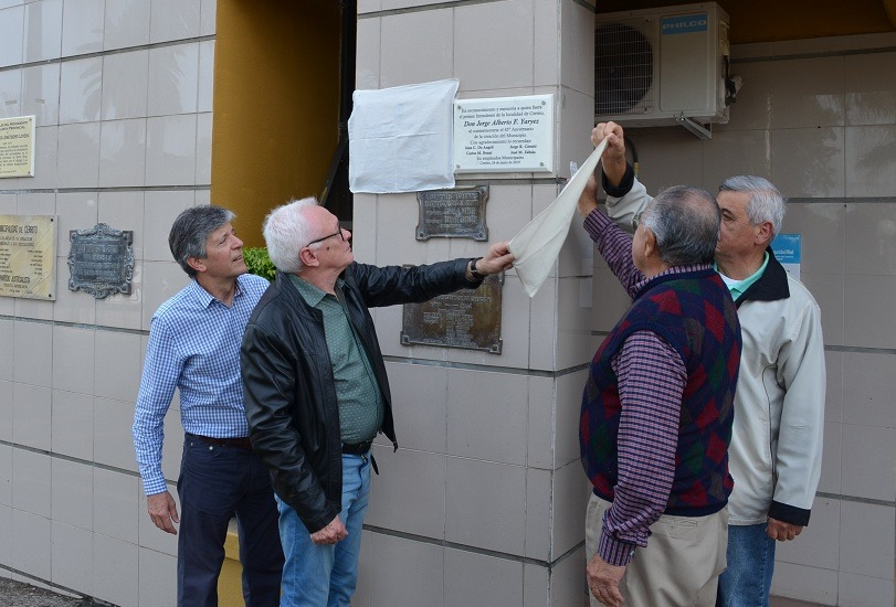 Acto por el 45° Aniversario de la creación de la Municipalidad de Cerrito