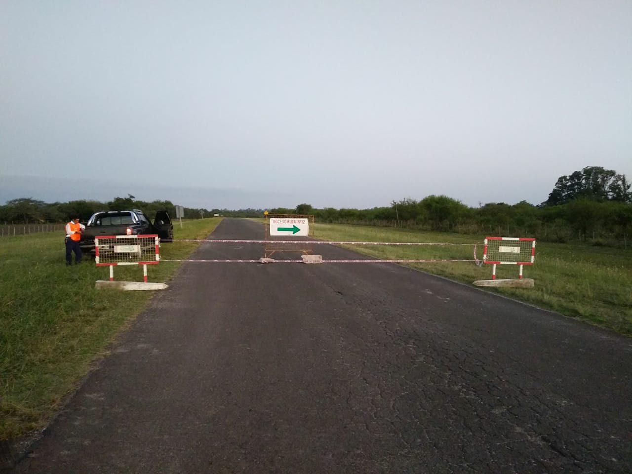 Operativos y restricciones en los accesos a Cerrito