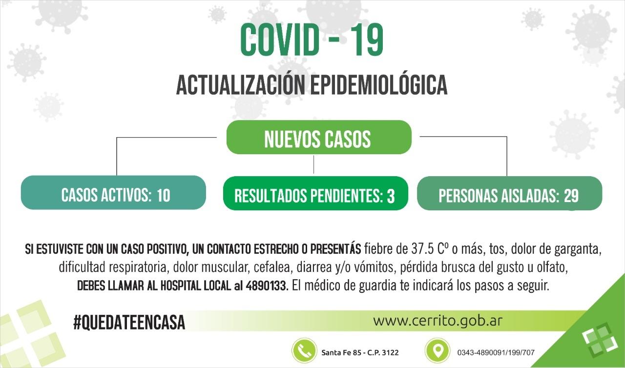 Reporte epidemiológico local