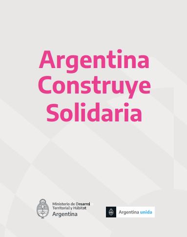 Programa Federal Argentina Construye Solidaria
