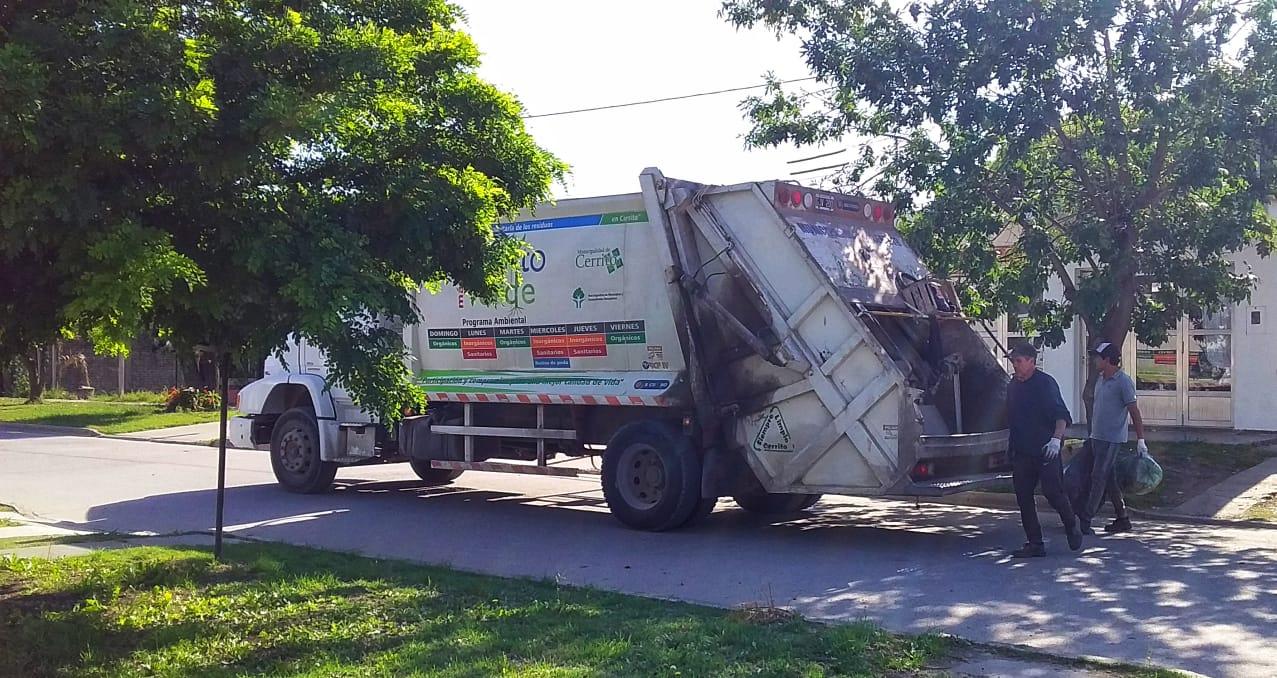 Información sobre la recolección de residuos