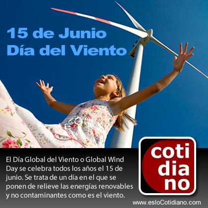 dia mundial del viento